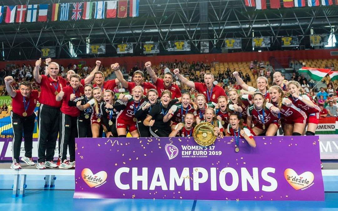 Európa tetején az U17-es női válogatott!